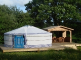 Yurt Holidays, Glamping, Luxury Camping in Wales