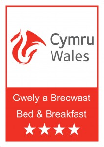 Visit Wales 4 Star Bed & breakfast Logo