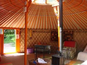 yurt iside
